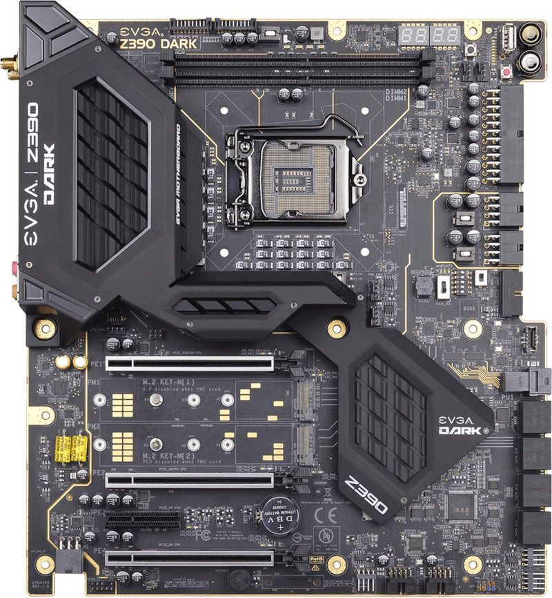EVGA Z390 DARK Motherboard with Intel Core i9-9900K