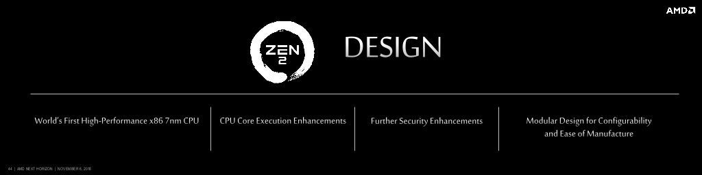 AMD Zen 3 already on course with 7nm+ EUV lithography and
