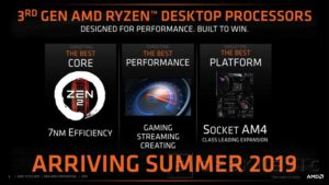 AMD will explains aspects of the new Zen 2 architecture at