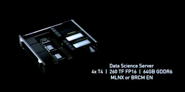 Tesla T4 GPU of the second generation based on tensor cores offers
