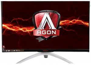 """AOC AGON AG322QCX QHD Curved 31.5 """"monitor with a 144hz refresh and compatible with AMD Freesync"""