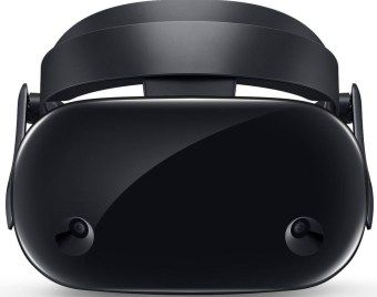 Front view of new Samsung goggles