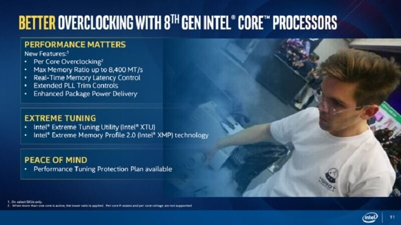 Intel officially announces its eighth-generation Coffee Lake