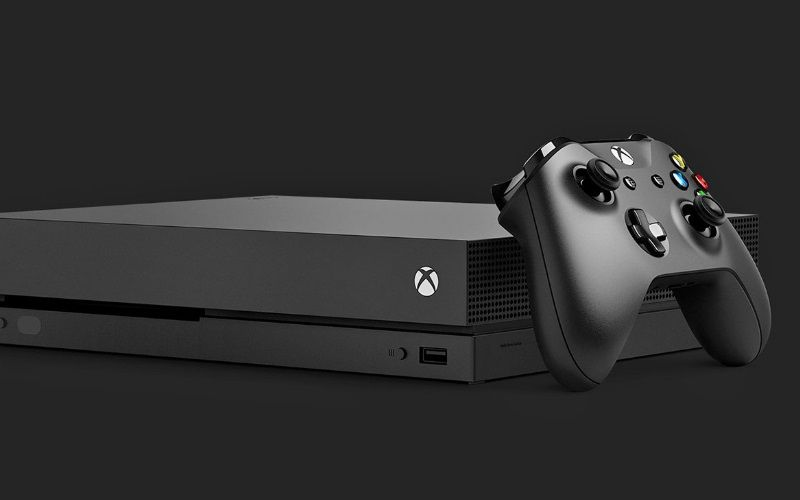 Xbox One X, smaller; More powerful