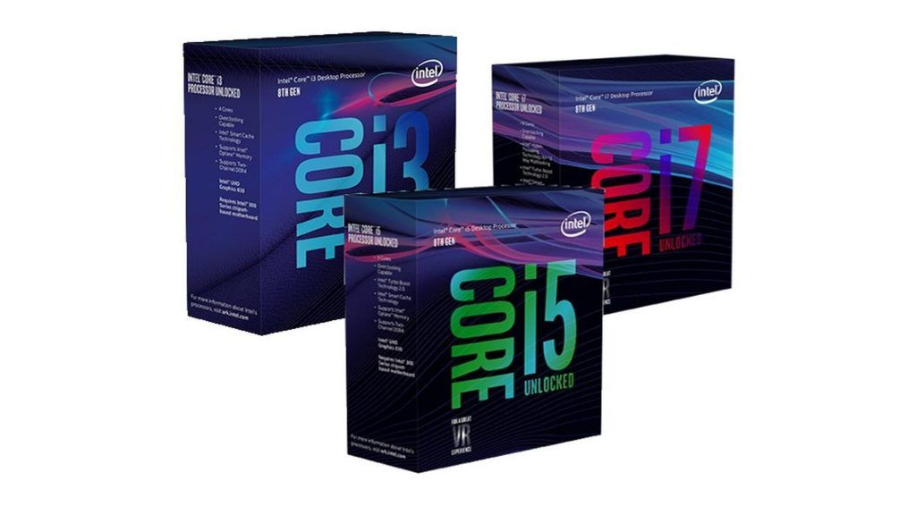 Intel launches its eighth generation of Coffee Lake processors