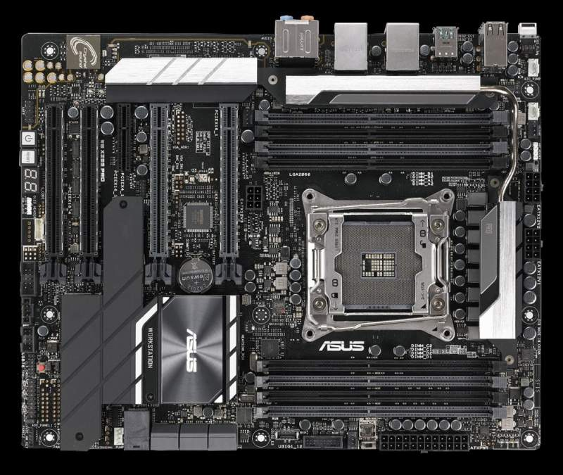 ASUS unveils new WS X299 PRO motherboard