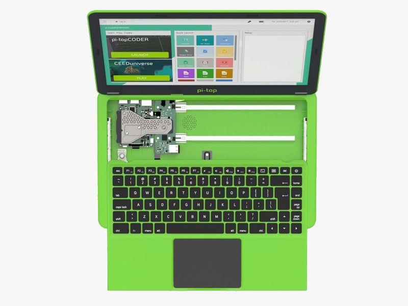 Pi-Top launches the second version of its modular notebook based on Raspberry Pi 3