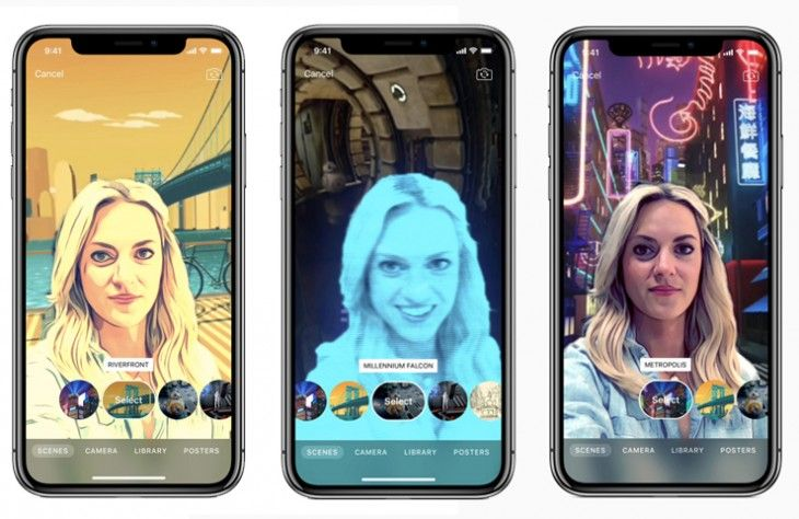 """Apple Clips releases """"Selfie Scenes"""", Augmented Reality feature for iPhone X users"""