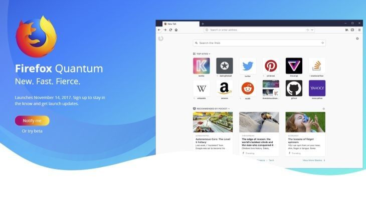 Download and find what's new in Firefox Quantum - OptoCrypto