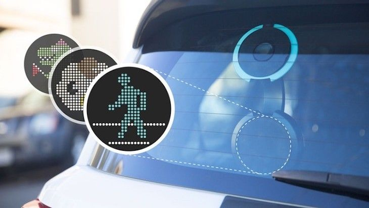 CarWink, a device to communicate with other drivers through animations