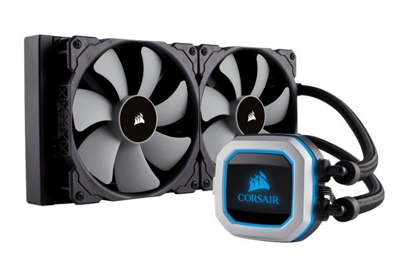 Coming soon the Corsair H150i Pro 360 mm and H115i Pro 280 mm