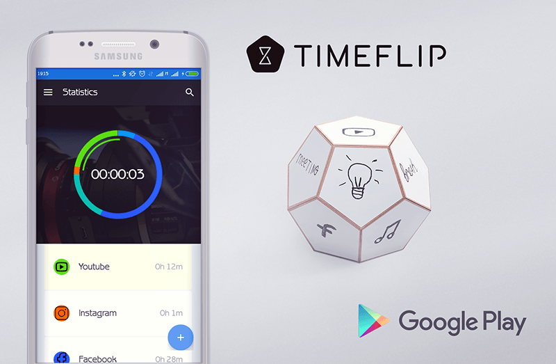 TimeFlip Time tracking gadget will organize your life