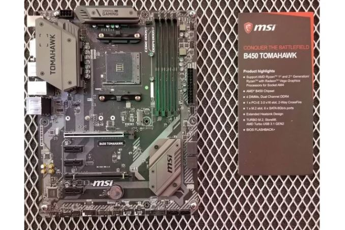 MSI B450 Tomahawk and MSI B450-A PRO with AMD B450 chipset - OptoCrypto