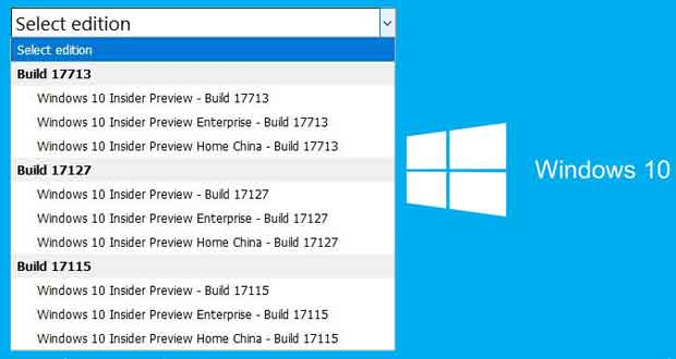 Windows 10 Redstone 5, ISO images are available for download