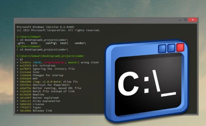 Find out the best terminal emulators for Windows