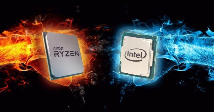 Intel share crashes, AMD stock rises, what pulls Intel down?